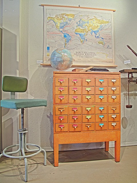 Vintage Home Furnishings eclectic-home-office