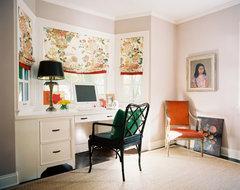 Vintage Nouveau Home eclectic-home-office
