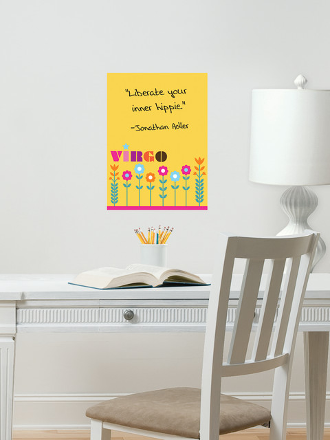 Virgo Zodiac Dry-Erase Message Board traditional-home-office