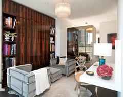 W Residences modern-home-office
