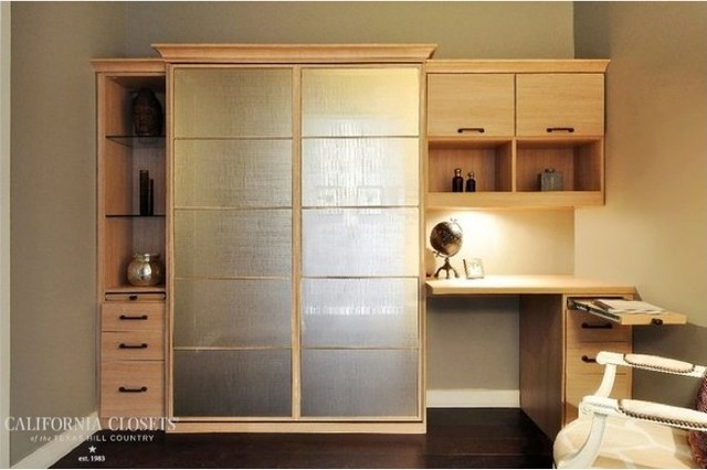 murphy bed home office. Wall Bed / Home Office Combo Contemporary-home-office Murphy
