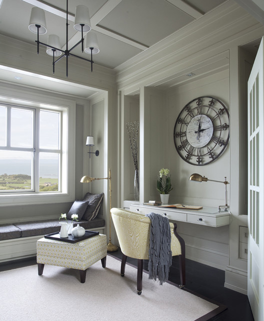 Wall Morris Design New England Style House Ireland Traditional Home Office