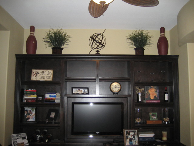 Wall Unit traditional-home-office