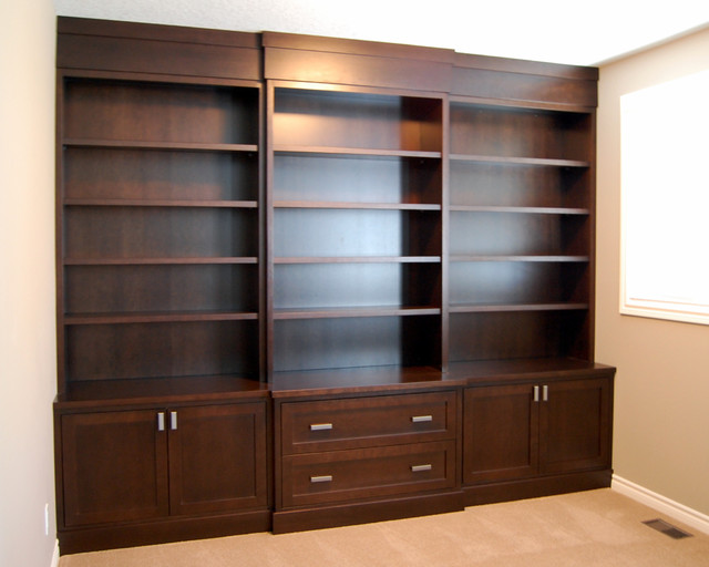 Wall Units - Traditional - Home Office - toronto - by Cabinet Effects