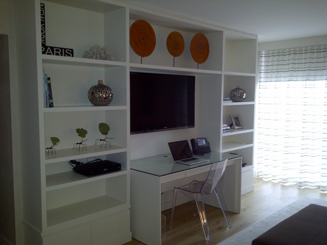 Wall Units Modern Home Office And Library