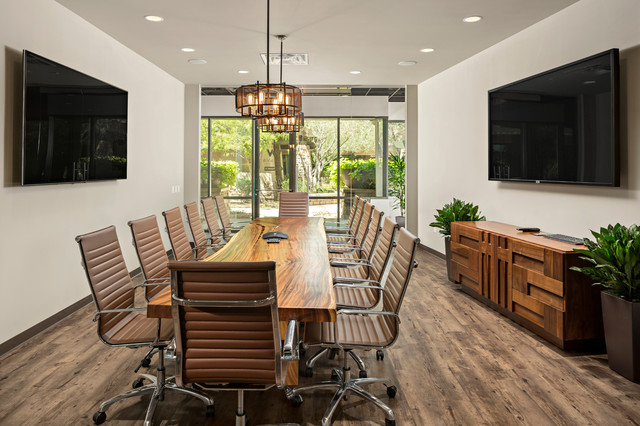 Wallick and volk corporate office modern home office for Houzz corporate office