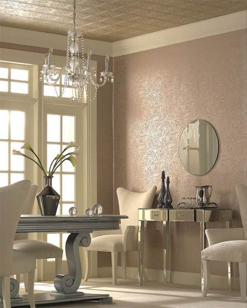 Wallpapers eclectic-home-office