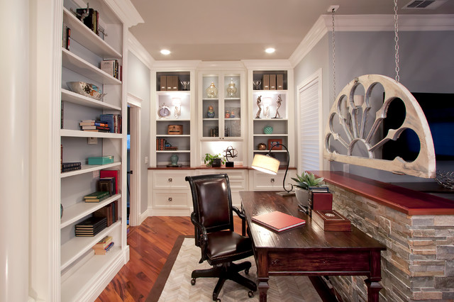walnut creek master bedroom and library transitional 19180 | transitional home office