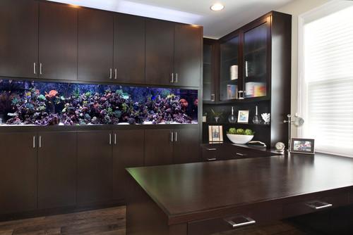 Comment animer votre logement avec un aquarium au coeur de l 39 immo - Acquario x casa ...