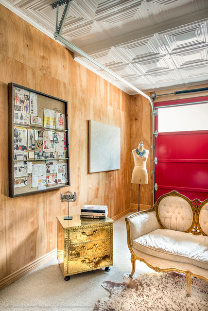 Walnut Street  /  Mile High Style... eclectic-home-office