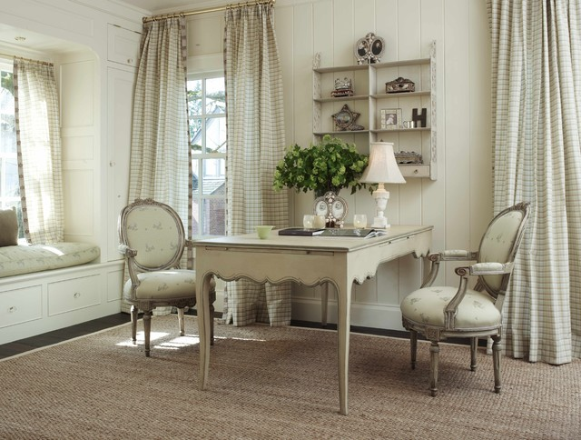 French Country Home Office. Warmington North Shabby Chic Style Home Office