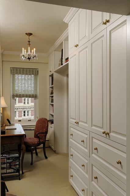 Washington DC Condominium Renovation - Traditional - Home Office - DC Metro - by BOWA