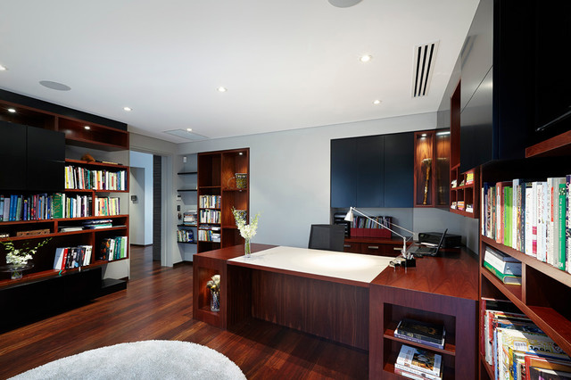 Wembley Residence 2012 contemporary-home-office