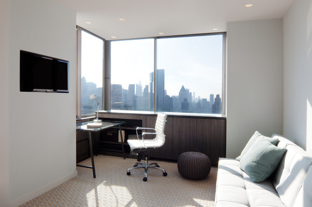 West 67th St. Residence contemporary-home-office