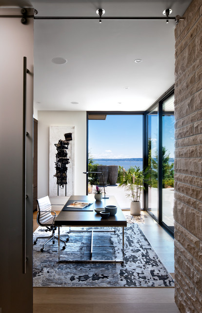West Vancouver Residence contemporary-home-office
