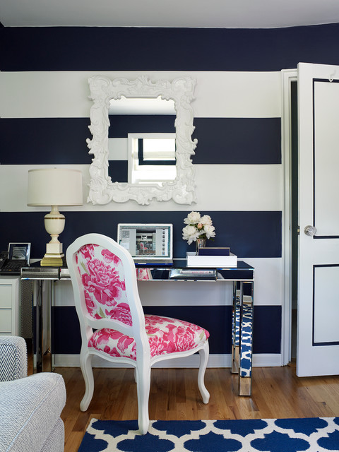 Westchester Home transitional-home-office