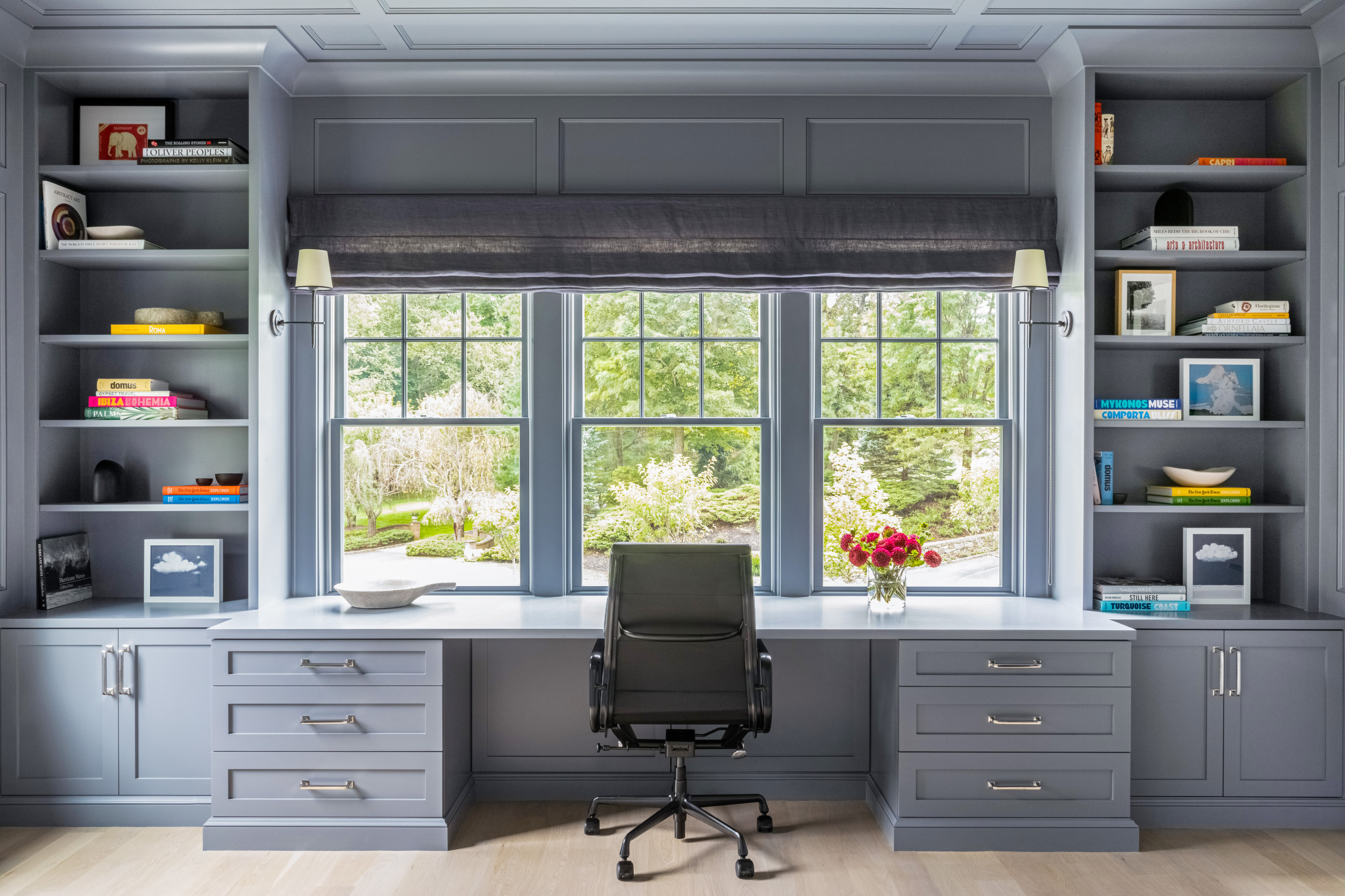20 Beautiful Built In Desk Home Office Pictures & Ideas   October ...