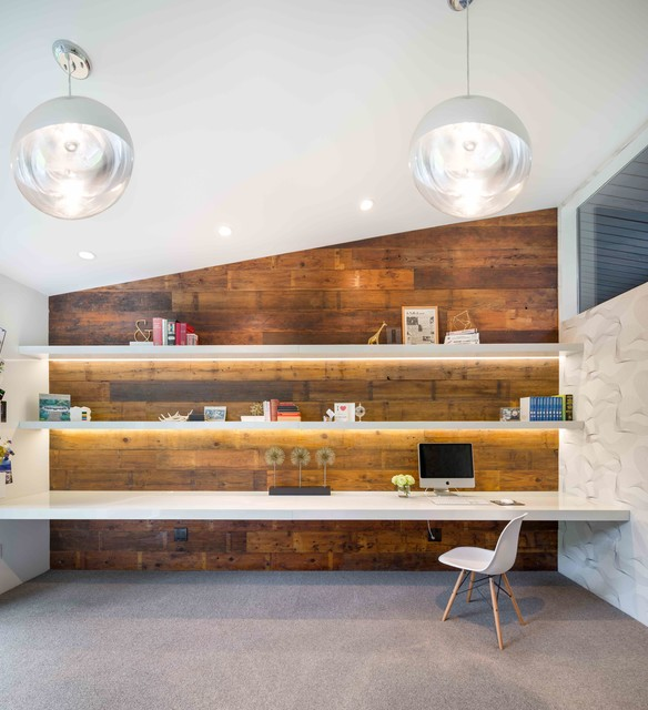 Westdale Dr - Midcentury - Home Office - Portland - by ...