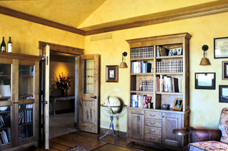 Western Ranch Traditional Home Office Denver By Mq