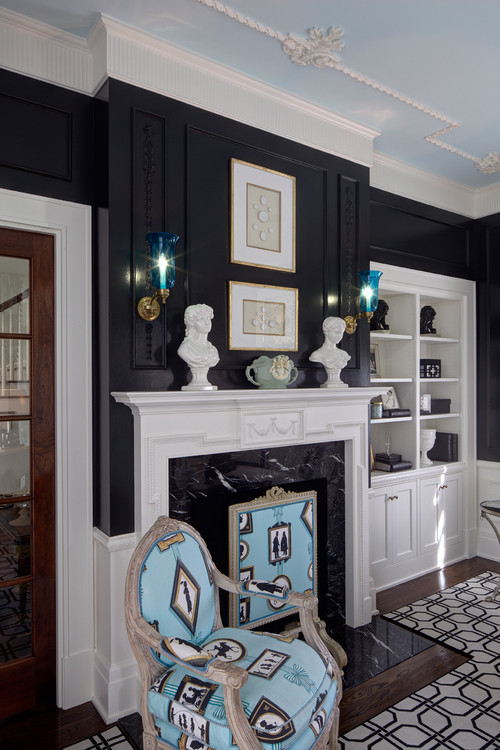 Traditional Home Office by Chagrin Falls Design-Build Firms W Design Interiors