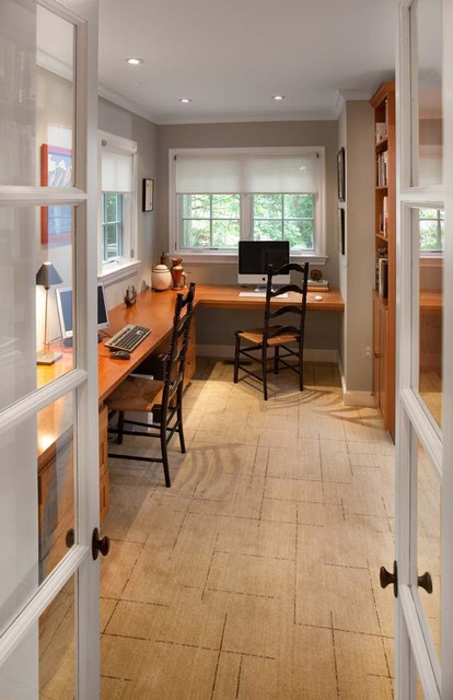 Whole-house remodel, Chevy Chase, MD traditional home office