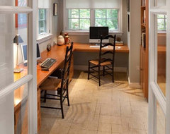 Whole-house remodel, Chevy Chase, MD traditional-home-office