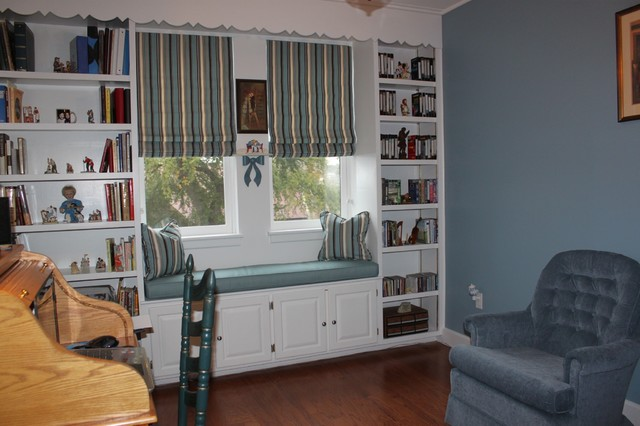 Window Treatments Traditional Home Office Other