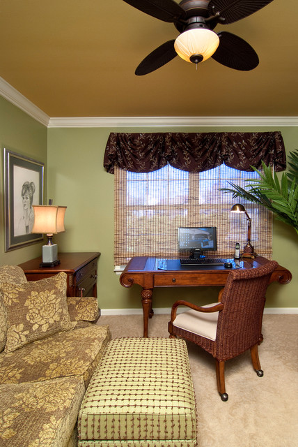 Small Spaces with Great Style for Homeowner traditional-home-office