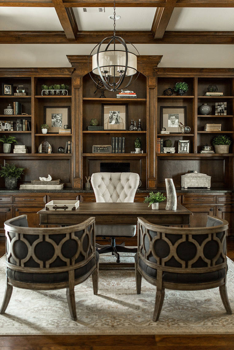 75 Beautiful Traditional Study Room Pictures Ideas February 2021 Houzz