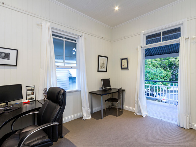 Woolloongabba renovation Modern home office furniture brisbane
