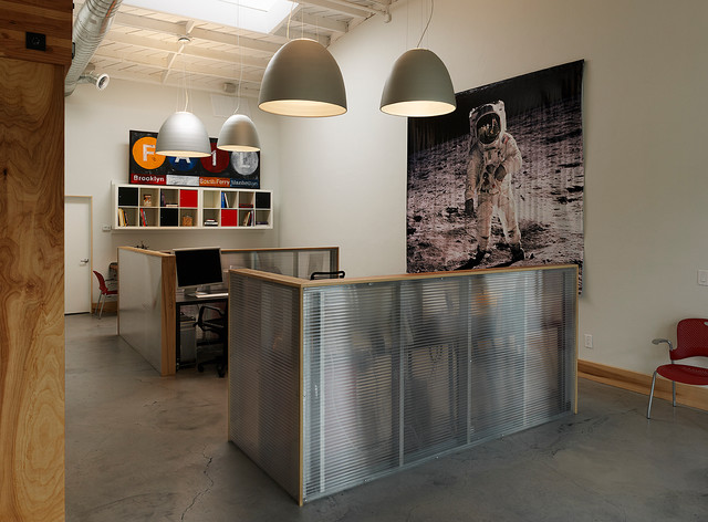 Work / Live Space modern-home-office