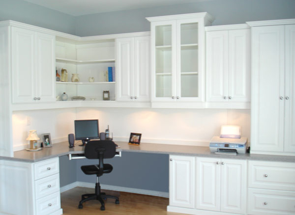 Unique Handmade BuiltIn Home Office Desk And Storage Cabinet By Diamond
