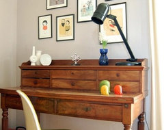Writing desk midcentury-home-office
