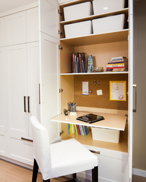 Yale Kitchen transitional-home-office