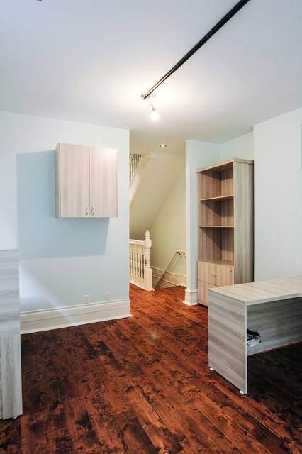Yorkville Heritage Office transitional-home-office
