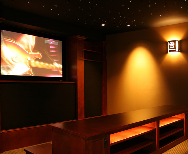 2006 Master Design Award traditional-home-theater