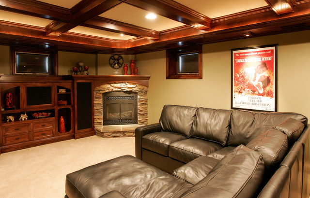 2006 Tour of Remodeled Homes traditional-home-theater