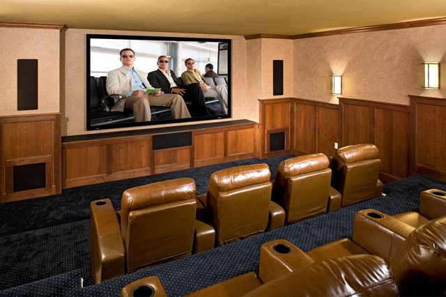 2008 Halifax Residence traditional-home-theater
