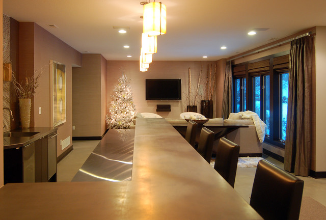 2010 Tour of Remodeled Homes modern-home-theater