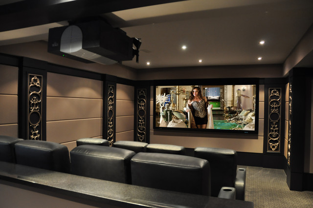 2012 Theater contemporary media room