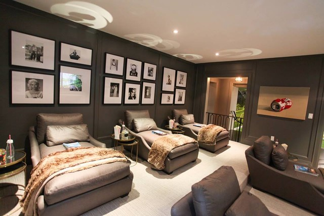 2015 Princess Margaret Oakville Showhome Contemporary Home Theater Toronto By Pcm Inc