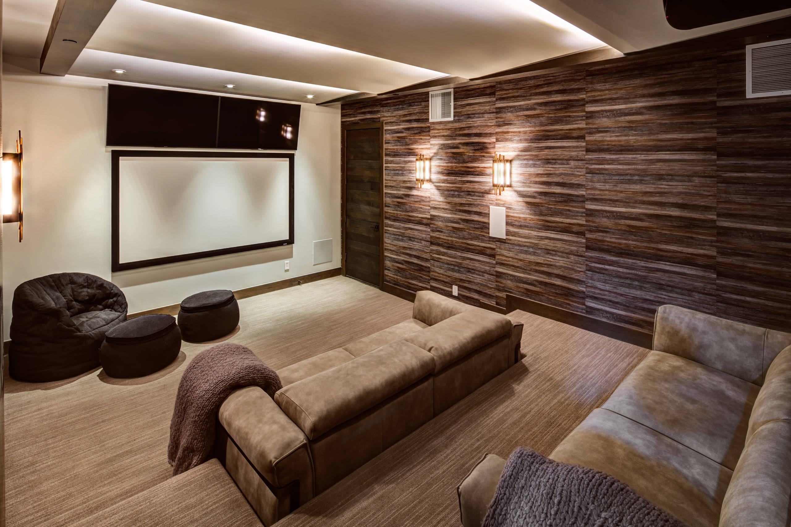75 Beautiful Modern Home Theater Pictures Ideas January 2021 Houzz