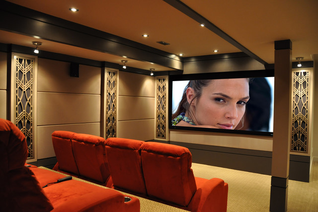 home theater acoustic design. 294 Theater contemporary home theater