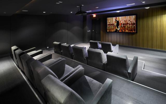 500 BRICKELL contemporary-home-theater