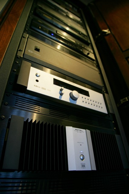 A/V Equipment Rack