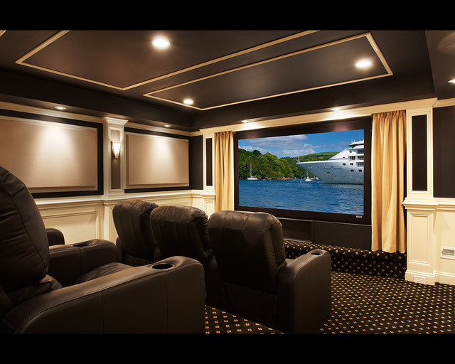 Aldie Theater traditional-home-theater