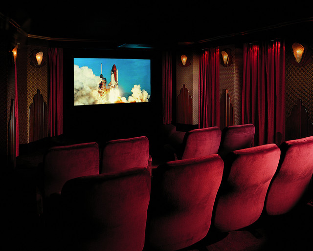 art deco theater contemporary home theater philadelphia by media rooms inc. Black Bedroom Furniture Sets. Home Design Ideas