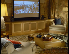 Aspen House traditional-home-theater