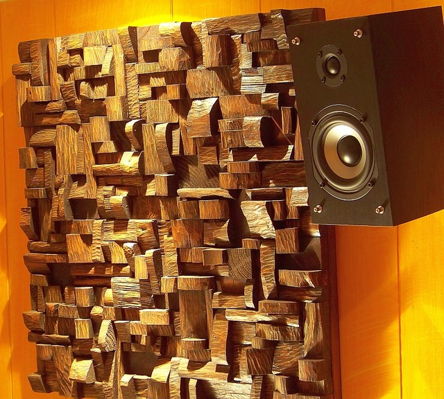 Audio Diffusers Contemporary Home Theater Toronto