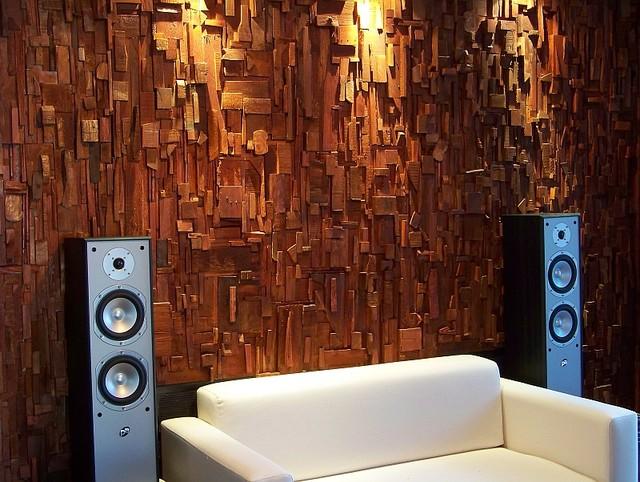 Audio Diffusers Contemporary Home Theater Toronto